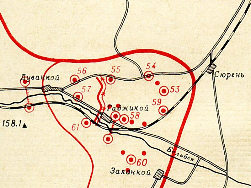 Схема Дуванкойского ОП